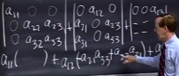 [第19集] 行列式公式和代数余子式